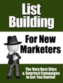 List Building for New Marketers