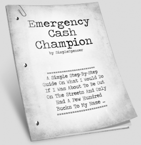Emergency Cash Champion Review – Killer method on how to get emergency cash – FAST