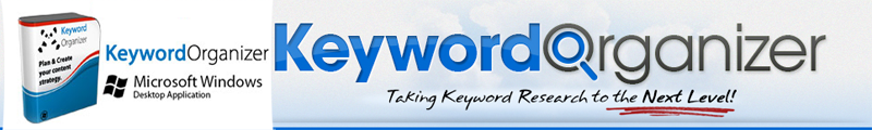Keyword Organizer Software
