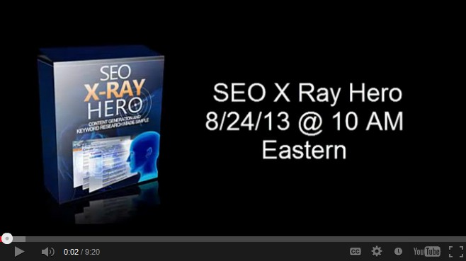 seo xray hero Video