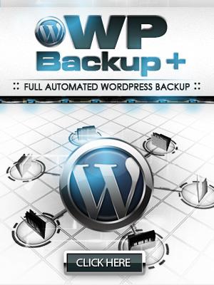 WP Backup Plu