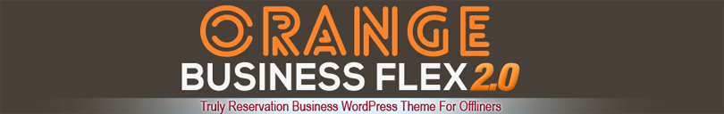 Orange Business Flex WordPress Theme