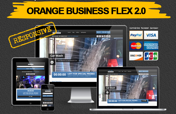 Orange-Business-Flex-Wordpress-Theme