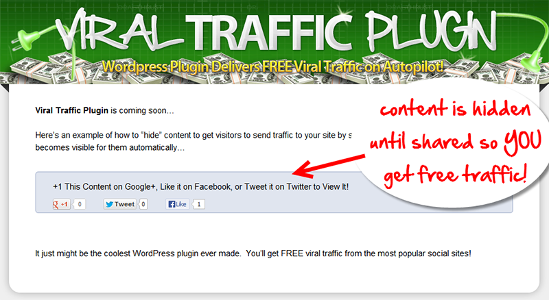 Viral Traffic Plugin