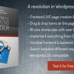 Frontend Builder – WordPress Plugin Content Assembler